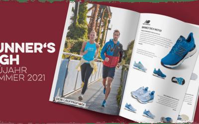 Laufmagazin Runner's High